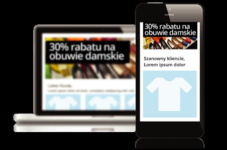 System newsletterowy od Newsletter2Go responsywny design