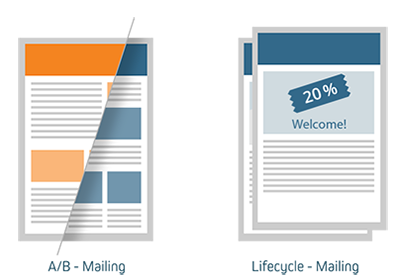 A/B Lifecycle mailing
