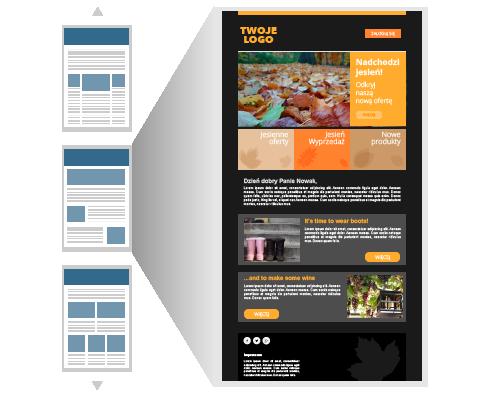 Darmowe szablony HTML newsletterów